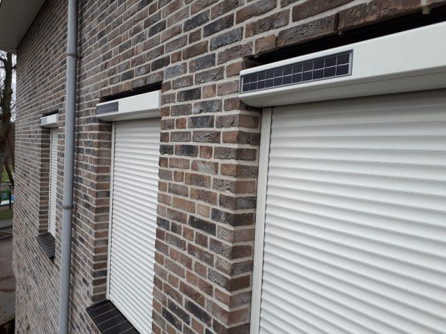 solar rolluiken geplaatst in Nijmegen - zonwering op zonne-energie