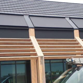 solidsky screens Ede schuin dak serrezonwering Frema zonwering Rhenen Veenendaal Ede Wageningen Utrecht Gelderland Betuwe eo