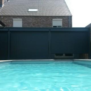 veranda overkapping terrasoverkapping met rolluiken