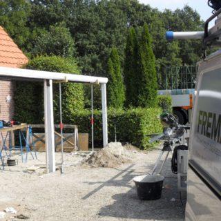 veranda te Rhenen Utrecht serre terrasoverkapping serre