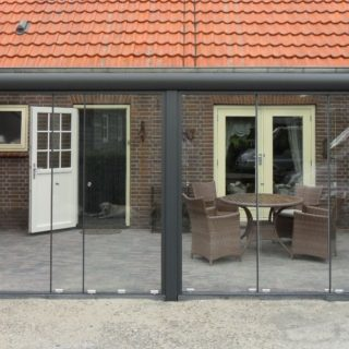 veranda te Rhenen overkapping