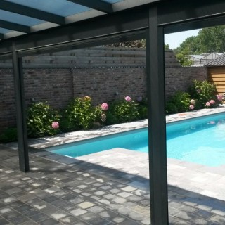 veranda terrasoverkapping overkapping België