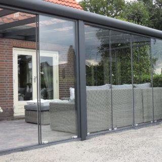 veranda serre Rhenen Veenendaal glazen terrasoverkapping