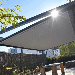 veranda's en buitenleven overkapping Cubola tuin terras veranda met screens Frema zonwering Rhenen Veenendaal Ede Wageningen eo