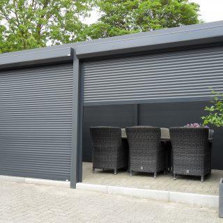 verandazonwering rolluiken veranda aluminium