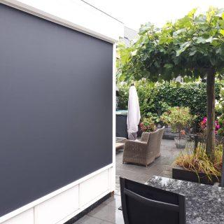 zonwering Druten screens antraciet screen Frema zonwering Rhenen Wageningen Veenendaal Ede Betuwe Utrecht Gelderland eo