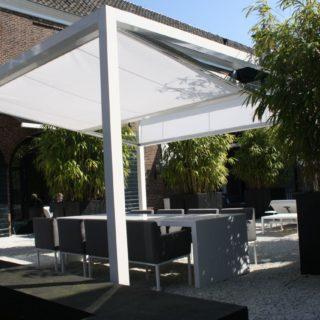 zonwering bedrijven terras horeca cubola