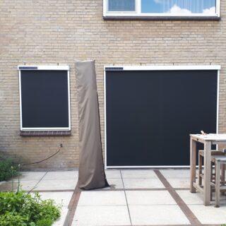 zonwering op zonne-enrgie solarscreens solarzonwering zonnepanelen zonnepaneel FREMA Zonwering Rhenen Veenendaal Ede Wageningen Utrecht Gelderland Betuwe e.o.