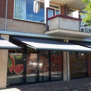 zonwering winkel Amersfoort knikarschermen Frema zonwering Rhenen Veenendaal Ede Wageningen Utrecht e.o.