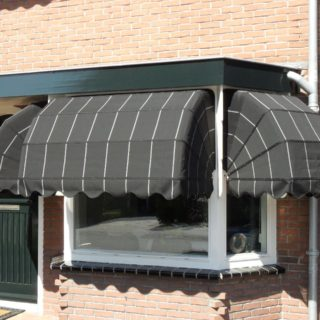 project zwarte markiezen zonwering Veenendaal Rhenen